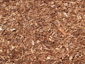 mulch, trees